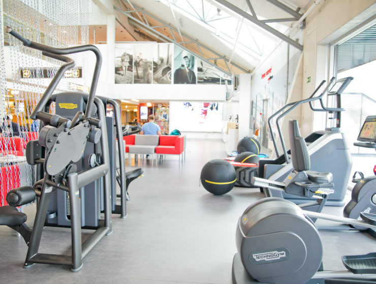 Tallinn Airport Pop-Up Gym
