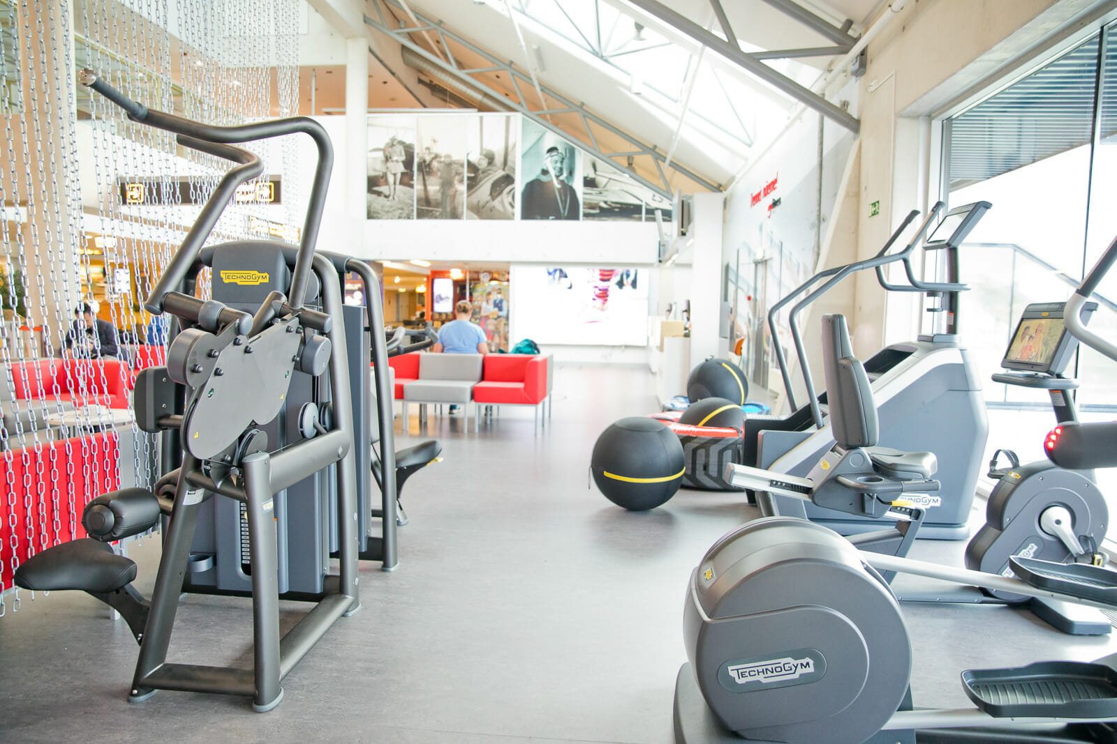 Tallinn Airport Pop Up Gym