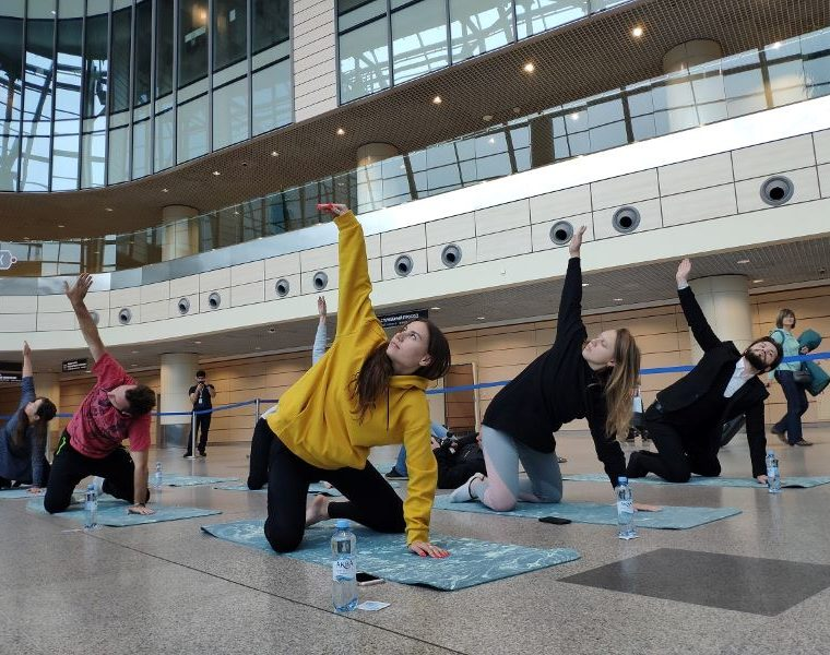 moscow domodedovo airport yoga