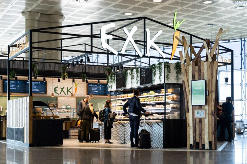 EXKI Barcelona Airport Food Review
